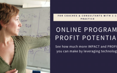 [Video] Profit and Impact Potential of Online Programs
