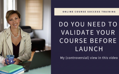 [Video] Do You Need to Validate Your Course?