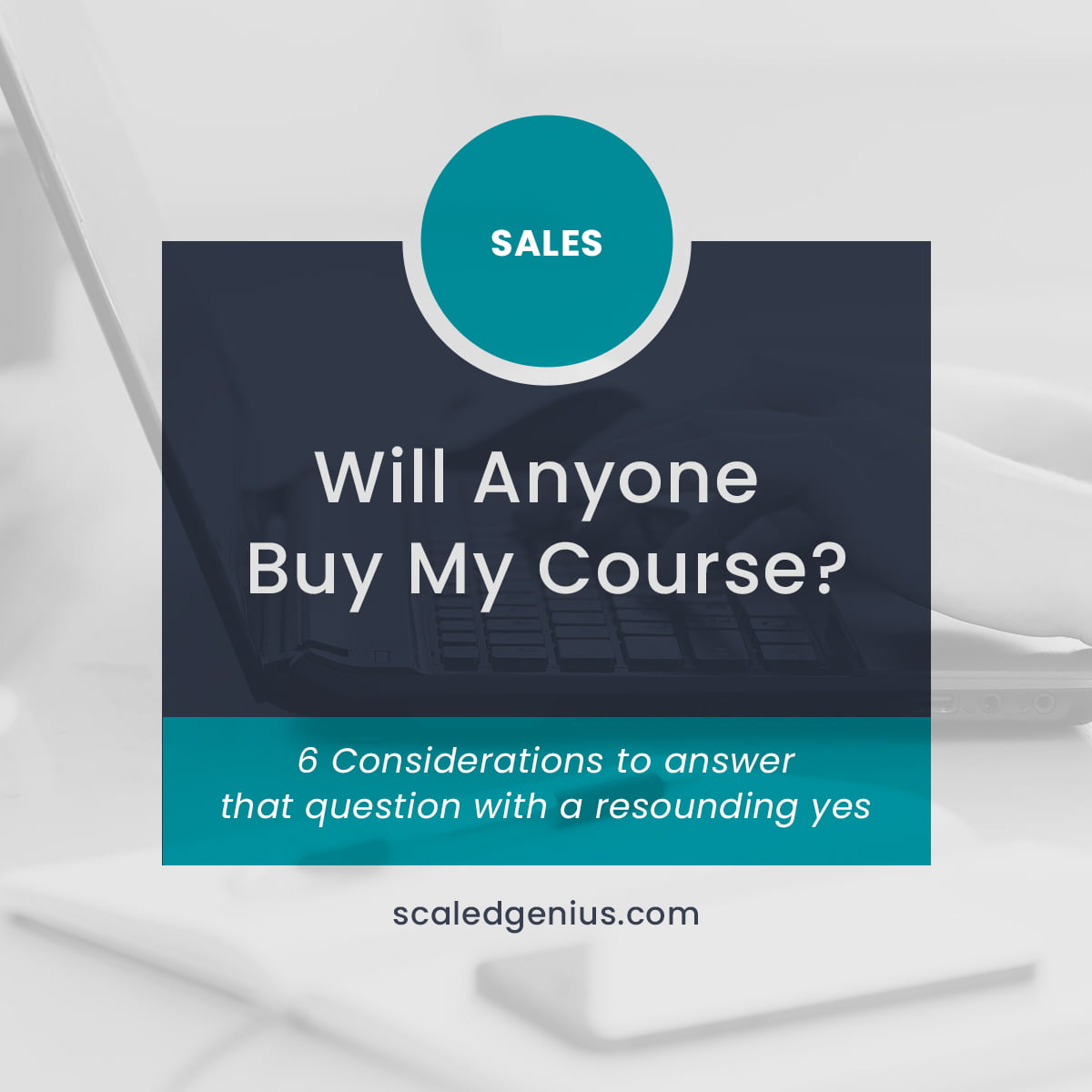 Will Anyone Buy My Course?